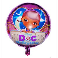 animations picture - inch Doc Mcstuffins design mylar Balloons Party Foil Balloons for Party Supplies or birthday Cartoon Animation picture