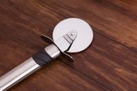 Wholesale Sharp Stainless Steel Blade Pizza Cutter Nonstick Wheel Slicer Pancake Pie Wheel Cutter Blade Grip Brand New