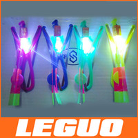 toy helicopter - 2015 novelty LED flying arrows red and blue led blinking fly arrows helicopter fly arrow umbrella kids toys DHL