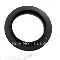 Wholesale 50pcs M42 Lens to for NIKON Adapter Ring For D700 D300 D5000 D90 D80 D70 tracking number