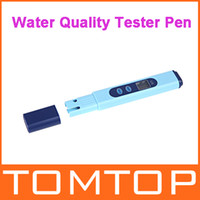 Wholesale Digital LCD EC Conductivity Meter Water Quality Tester Pen Blue