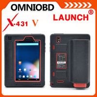 Code Reader audi official - Globle Version Original Launch X431 V Update Via Official Launch Website X V With Bluetooth Wifi