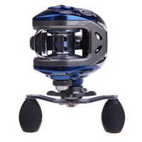 abu garcia - NEW BB Ball Bearings Right Hand Baitcasting Fishing Reel Abu Garcia High Speed Carretilha Pesca Blue Black