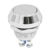 Cheap FS Hot Momentary Push Button Switch 12mm Threaded Dia SPST ON OFF order<$18no track