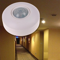 Wholesale Light Switch interruttore IR Infrared Motion Sensor Lamp Ceiling Wall Automatic Light Control Switch