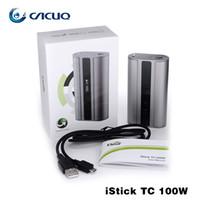 Wholesale Eleaf iStick TC w Batteries Mods Newest iStick w TC Box Mod Original