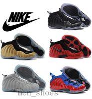 foamposite - Nike Air Penny Hardaway Foamposites One Men Basketball Shoes Foamposite Pro Galaxry Original Quality Nike Running Shoes Size