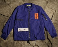 designer jackets for men - Fall fall style for men urban clothing raf simons white blue S XL fashion mens designer clothing trench coat brand jacket