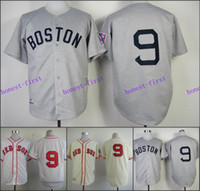 ted - Ted Williams Jersey Cream Cool Base Boston Red Sox Jerseys