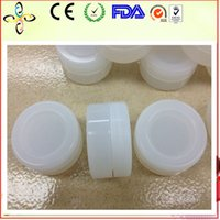 Wholesale Clear color Silicone Container Jars Dab For Concentrate oil shatter wax