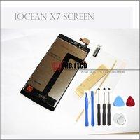 al por mayor iocean x7-Venta al por mayor de alta calidad Iocean X7 Turbo Plus Elite LCD joven Pantalla + Digitalizador táctil de 5.0 pulgadas FHD Screeniocean 1920 * 1080