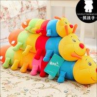 best caterpillar - Super Kawai8i Cute Caterpillar Plush Toys Comfortable Animal Pillow Stuffed Toys Baby Toy Best Gift For Children Kids Toy