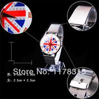 auto metal mesh - Union Jack Watches Cool Metal Iron Net Mesh Band Circle Quartz Wrist Watch Women Unisex