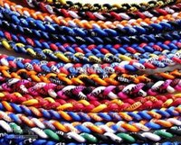 Wholesale DHL shipping New brand Baseball Sports Titanium Rope Braided Sport GT Necklace colors