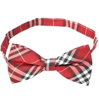 red bow tie - Decoration Cotton Lattice Bow Tie Red Material cotton Specification bow tie lace length cm bowknot length cm Width cm