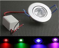 battery led spotlights - W RGB LED Recessed Ceiling Light Spotlight Down light Lamp rgb with battery IR Remote Control