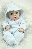 baby alive dolls free shipping - 2015 New Design Lifelike Baby Alive Dolls Full Vinyl Realistic Baby toys Kids birthday Peanut Newborn Baby Doll