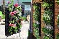 Wholesale DIY Pocket Vertical Wall Planter Garden Decoration Wall mounted Grow Bags Vegetable Flower Pot