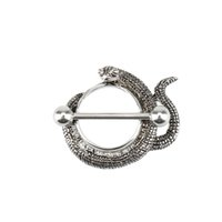 Wholesale New Trendy Snake Style Fashion Piercing Body Jewelry Body Piercing Nipple Ring Barbell