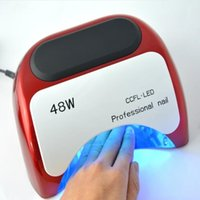 automatic nail machine - Professional CCFL led lamp naill W LED UV Lamp Nail Dryer with Automatic Induction Nail Machine tools by DHL