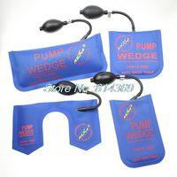Wholesale 4pcs Cheap New klom pump wedge Air Wedge Airbag Auto Locksmith Tool lock pick set open car door lock S M L U wedge A3