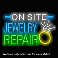 advertising site - On Site Jewelry Repair Neon Sign Pub Store Beer Pub Recreation Room Neon Signs Handcraft Glass Display Advertising Gifts x20