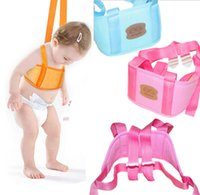 Wholesale Infant Child Kid Baby Walker Learn Walking Assistant Trainer Gear Safety Baby Harness Belt Reins Adjustable LY