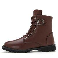work boots for men - Hot Sale Work Boots For Men On Sale Men Leather Boots Unique Style Men Motorcycle Boots SRXM6255