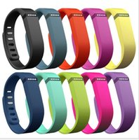 Cheap 2015 Fitbit Flex Bracelet Silicone Smart Watch Replacement band TPU Wrist Strap Wireless Activity Bracelet Wristband with Metal Button