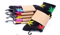 Wholesale Car multicolor fashion plantlife cotton skateboarding socks Hip hop socks men s Maple Leaf socks colours choose women socks free size