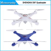 Wholesale SHENGKAI D97 WIFI Channels Quadcopter GHz Wireless Remote Control Helicopter Remote Control Toy Hot sale