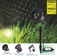 Wholesale Christmas Laser Projector Red Green Firefly Light Waterproof Outdoor Holiday Laser Lights Projector v elf light