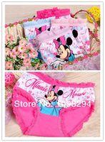 Wholesale Promotional discounts Panties baby underwear shorts kids briefs Minnie Mouse panties Russia