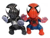 Wholesale Chuck spider man doll Cute cartoon doll car interior decoration supplies car furnishing articles