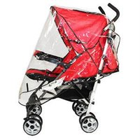 Wholesale Universal Baby Cart Rain Wind Cover Trend Plastic Baby Stroller Cover