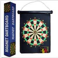 Wholesale 15inch Safety Magnet Dart Board Double Target Home Fitness Equipment
