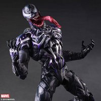 amazing spider man - 2015 New Spider Man Action Figure Venom Spride Collection Model Toys Play Arts Kai Action Figure Amazing Spiderman Play Arts Venom