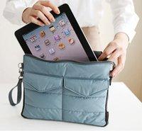 Wholesale New Arrival Hot selling Pad tablet Organizer Bags for storage bag in bag unisex computer clutch tote bag