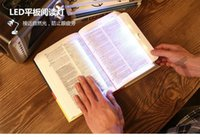 Wholesale eye protection reading light panel read lamp protect eyes bed book novel