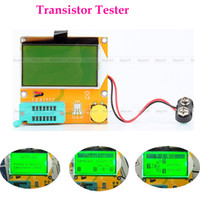 Wholesale Mega328 Transistor Tester Diode Triode Capacitance ESR Meter MOS PNP NPN L C R