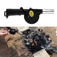 battery powered fan camping - Mini Portable Outdoor Cooking Electric BBQ Fan Battery Powered Air Blower for Barbecue Fire Bellows for Picnic Camping