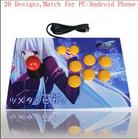 action arcade game - Arcade Joystick Controler PC USB New Fight Stick Turbo Function Action Buttons Stick Arcade Games