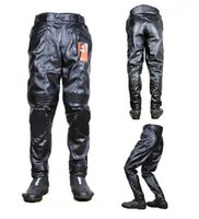 Wholesale Authentic DUHAN motorcycle pants locomotive Trousers car riding pant of high quality PU waterproof windproof size M L XL XXL