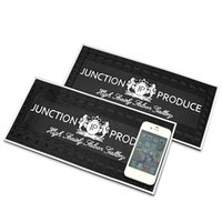 Wholesale 30X15cm Black JP Junction Produce Slicon Anti Slip Mats for Phone Glasses Magic Sticky Car Dashboard Stowing Tidying Accessories
