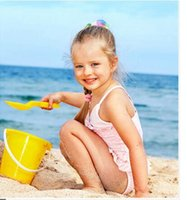 baby bathing bucket - children s sand bucket bathing suit swimming baby playing with sand beach stall selling toys