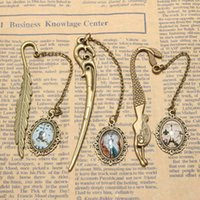 Wholesale Antique Retro Alloy Bronze Metal Bookmark Lovely Pendant Label Signet Gift Book Notebook Decoration