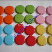 accessories sites - Tinplate Beer Bottle Caps For DIY Jewelry Hairbow Accessories One Site Colored Crown Cap