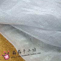 Wholesale Silver elegant brocade silk knit gauze flash silk chiffon Dress is prevented bask in clothes