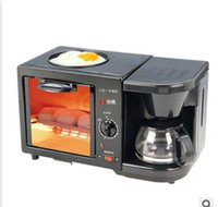 Wholesale Multifunctional American breakfast machine Coffee drip pan machine oven three in one oven Breakfast Makers