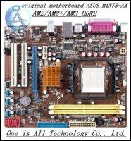 asus desktop power supply - original motherboard for asus M4N78 AM AM2 AM2 AM3 DDR2 Desktop motherborad Solid state power supply